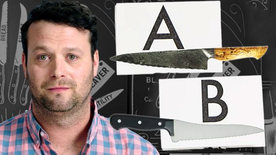 Knife Expert Guesses Which Knife Is More Expensive and Explains Why | Price Points