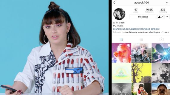 Charli XCX Breaks Down Her Favorite Instagram Follows