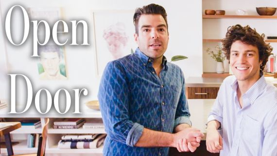 Inside Zachary Quinto's $3.2 Million NYC Loft