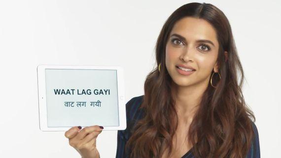 Deepika Padukone Teaches You Hindi Slang