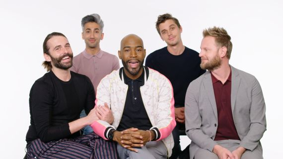 Queer Eye's Fab Five Help a Stranger Propose to His Girlfriend