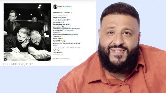 DJ Khaled Explains His Instagram Photos