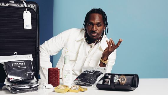 Pusha-T Knows the Importance of Moisturizing