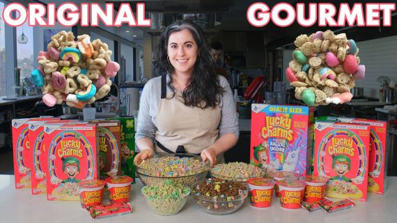 Pastry Chef Attempts To Make Gourmet Lucky Charms