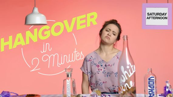 This is Your Hangover in 2 Minutes | Glamour