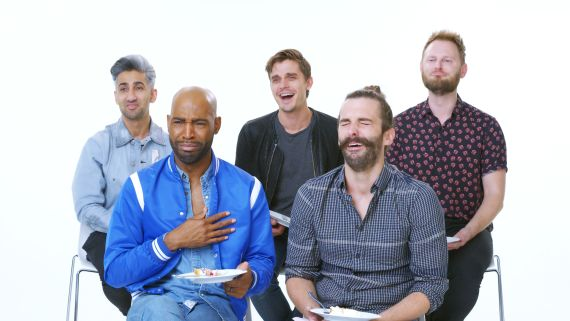 'Queer Eye' Cast Reviews the Internet's Biggest Wedding Videos