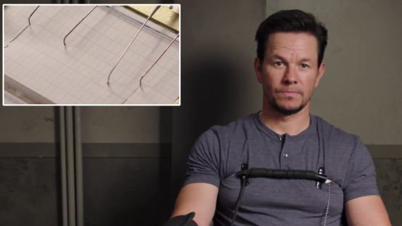 Mark Wahlberg Takes a Lie Detector Test