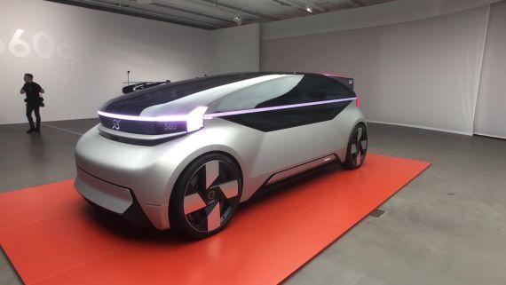 Volvo's 360c Concept Car