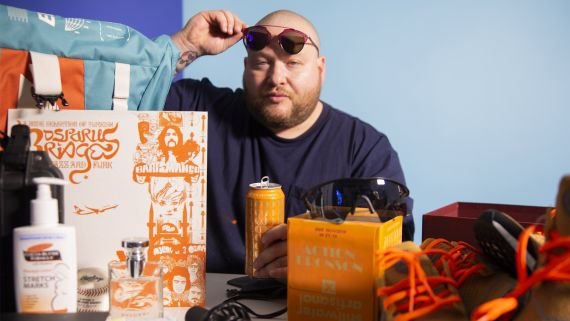 Why Action Bronson Never Leaves Home Without a Baseball
