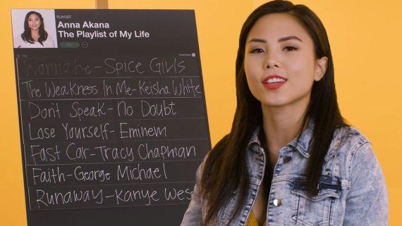 Anna Akana Creates the Playlist to Her Life