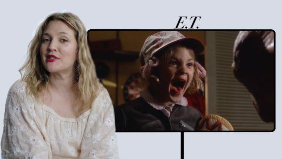 "Drew Barrymore Breaks Down Her Career, from ""E.T."" to ""Flower Beauty"""