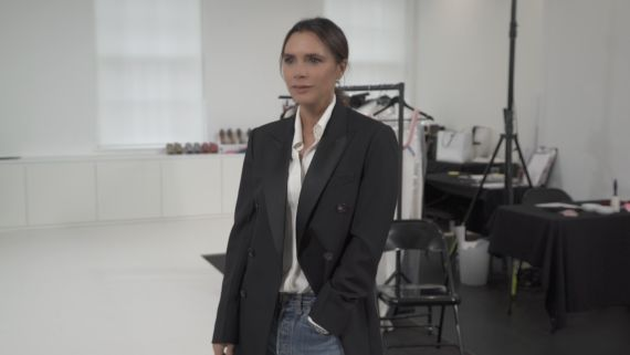 Behind the Scenes With Victoria Beckham Before Her 10th-Anniversary Show in London