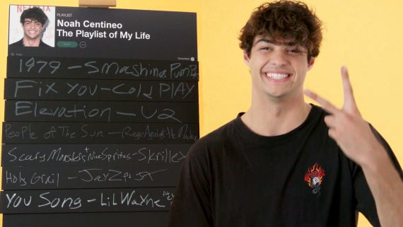 Noah Centineo Creates the Playlist to His Life