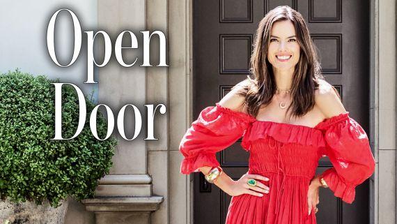 Inside Alessandra Ambrosio's Home   Open Door