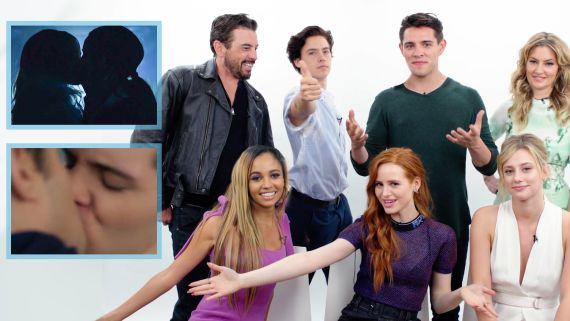 Riverdale's Cast Guesses Who's Kissing Who on Their Show