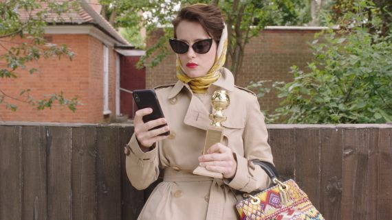 Watch Claire Foy Get In Touch With Her Wild Side