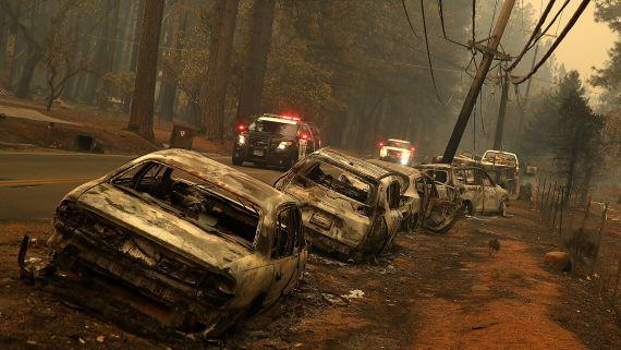 The Flames Engulfing California