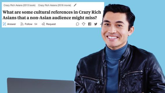 Henry Golding Goes Undercover on YouTube, Twitter and Reddit