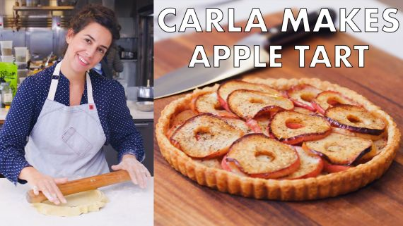 Carla Makes an Apple Tart