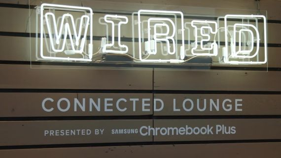 The Samsung Chromebook Plus Launch at WIRED25