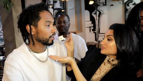 See How Miguel and Nazanin Mandi Prepped for Their Wedding
