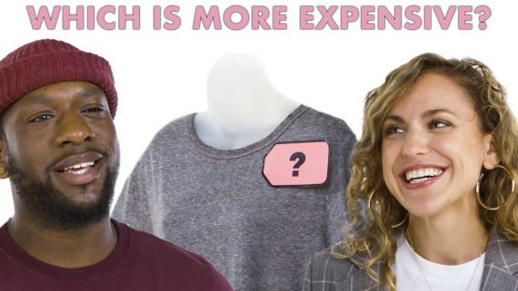 Style Expert Explains Cheap Vs. Expensive T-shirts