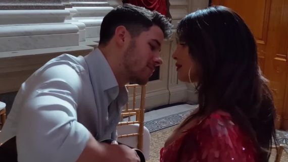 "Watch Priyanka Chopra Dance to Nick Jonas's Soulful Song, ""Close"""