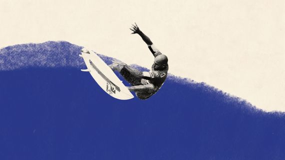Surfing on Kelly Slater's Machine-Made Wave