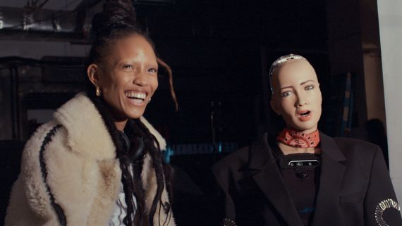 Adesuwa Aighewi Takes Vogue to Alexander Wang's Fall 2019 Show