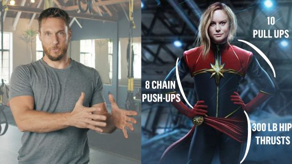 How a Celebrity Trainer Gets Actors in Shape for Movies