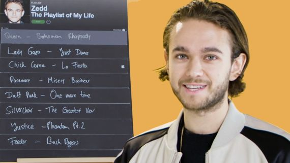 Zedd Creates The Playlist of His Life