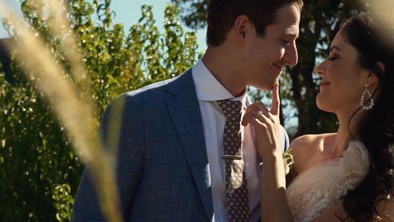 Amanda and John's Real Wedding | St. Helena, California
