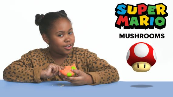 Kids Try Famous Food from Video Games, From Fortnite to Mario