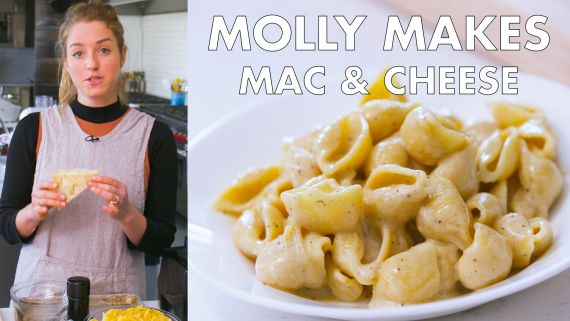 Molly Makes Macaroni and Cheese