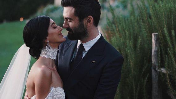 Tara & Brian's Real Wedding   Tuscany, Italy