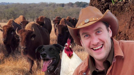 Brad Goes Ranching