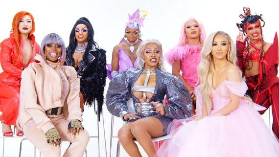 RuPaul's Drag Race Season 11 Queens Play Drag Taboo - Part 1