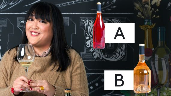 Wine Expert Guesses Cheap vs. Expensive Wine
