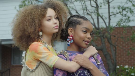 BTS with Marsai Martin and Nico Parker for Teen Vogue's March Digital Cover