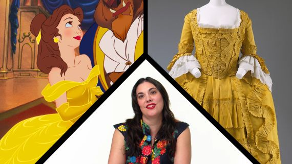 Fashion Expert Fact Checks Belle from Beauty and the Beast's Costumes