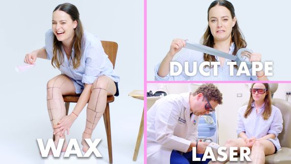 Every Method of Leg Hair Removal (21 Methods)