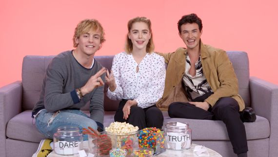 """""""The Chilling Adventures of Sabrina"""" Cast Plays I Dare You"""