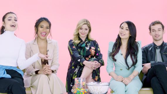 """""""Pretty Little Liars: The Perfectionists"""" Cast Plays I Dare You"""