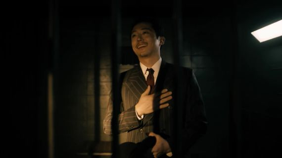 """Steven Yeun's Mysterious """"Twilight Zone"""" Character"""