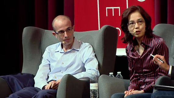 Will AI Enhance or Hack Humanity? - Fei-Fei Li & Yuval Noah Harari in Conversation with Nicholas Thompson