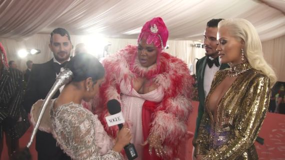 Rita Ora & Lizzo on Their Glamorous Met Gala Looks