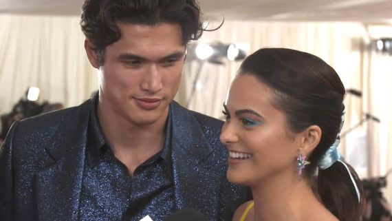 Camila Mendes and Charles Melton on their First Met Gala