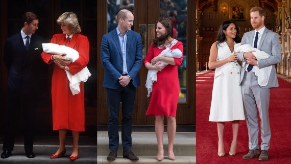 The Royal Babies, Then and Now