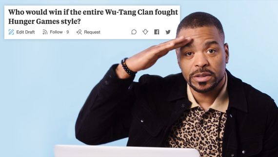 Method Man Goes Undercover on Reddit, Twitter and YouTube