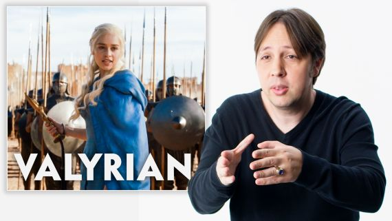 Game of Thrones Language Creator Reviews People Speaking Valyrian and Dothraki